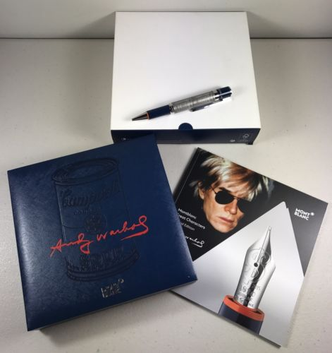 Montblanc Great Characters Special Edition Andy Warhol Ballpoint Pen