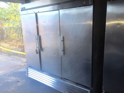 True T-72-F Three Solid Door Freezer