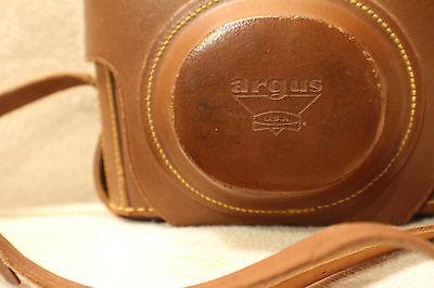 Vintage Argus Leather Camera Case