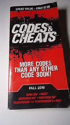 Video Game Strategy Guide Codes And Cheats Paperback Book 2010 Prima Games