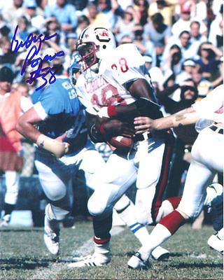 GEORGE ROGERS AUTOGRAPHED/SIGNED SOUTH CAROLINA GAMECOCKS 8X10 PHOTO 12976