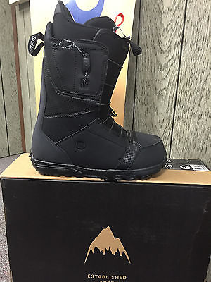 NIB 2016 Men's Burton Boot Moto 9.5 Black