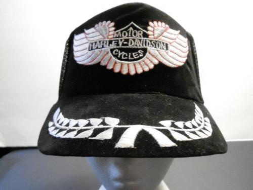 HARLEY DAVIDSON MOTOR CYCLES TRUCKERS HAT/CAP SNAP BACK