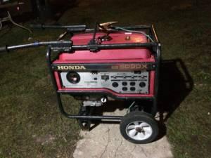 Honda generator (Richton)