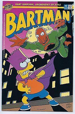 Bartman #2 NM+ 9.6 Bongo Comics High Grade