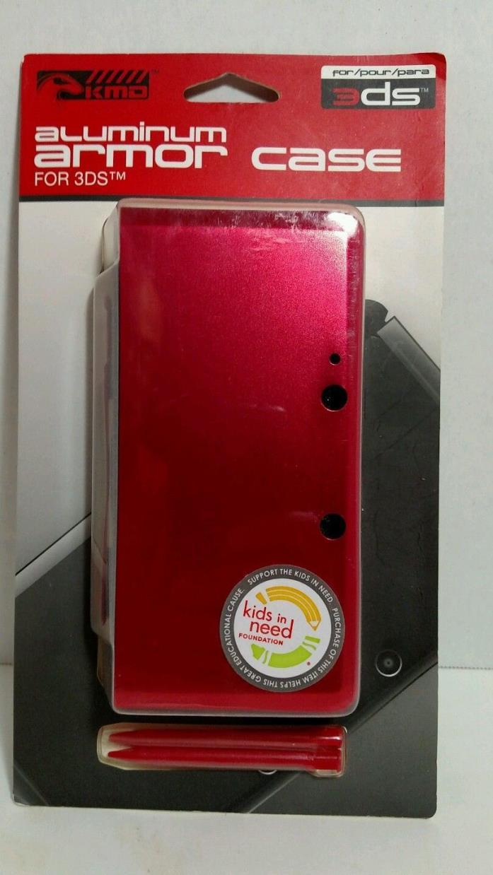 Nintendo 3ds armor case red
