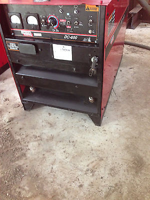 Lincoln Electric Idealarc DC 600 Welder-Mig Tig Stick Gouge Sub Arc Power Source