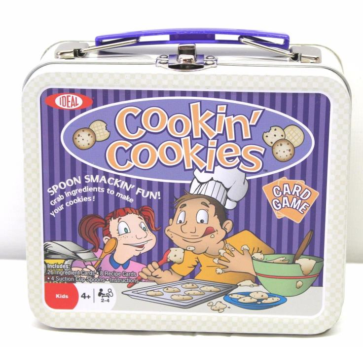 Cookin` Cookies Card Game by Fundex, New, Spoon Smackin' Fun