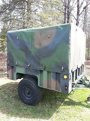 Raytheon M1101 Military Surplus Cargo Trailer