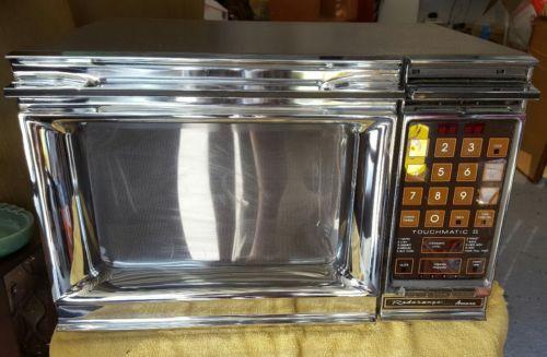 Vintage Amana Radarange Microwave Oven Touchmatic II 2 RR-10ET EUC WORKING