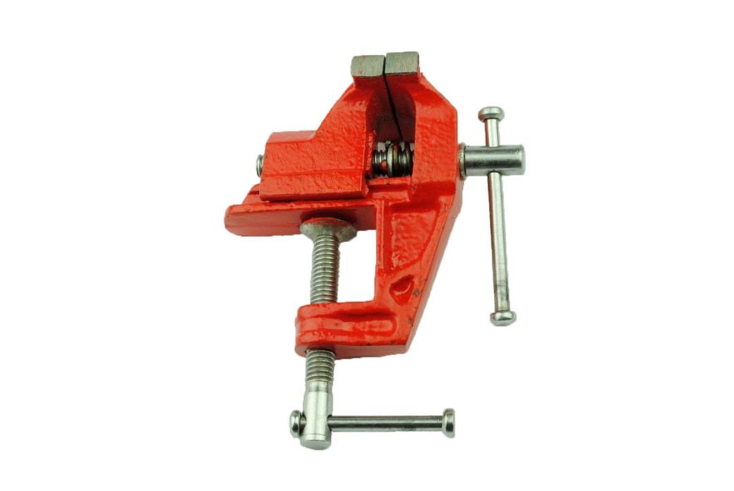 Portable Clamp Base Bench Vice w Jaw - Baby Vise
