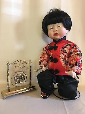 1988 Knowles Kathy Hippensteel Chen Porcelain China Chinese Asian Doll