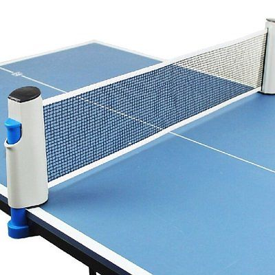 Table Tennis Net Retractable Portable Ping Pong Sport Accessory Indoor Outdoor