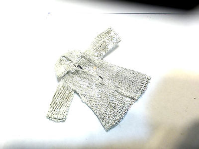 Vintage Dawn dolls by Topper jacket silver short