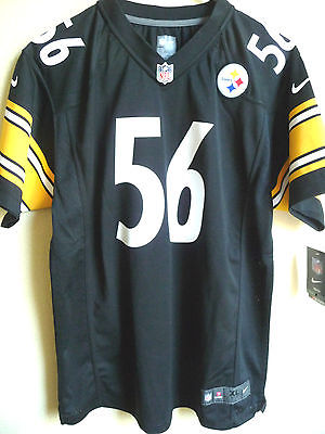 Youth NFL Pittsburgh Steelers LaMarr Woodley #56 Game Jersey XL (18-20) NEW