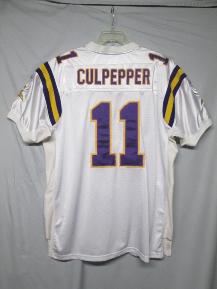 Vintage NFL Minnesota Vikings Daunte Culpepper Reebok Jersey size 56