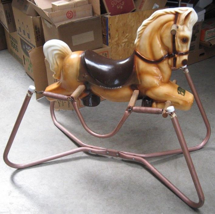 childs spring horse rocking horse