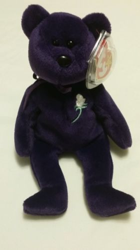 *RARE* 1st Edition Princess Diana beanie baby. MINT cond.