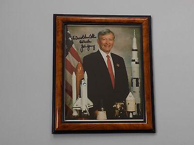 John Young Apollo 16 Moon Walker Signed 8 X 10 Photo (Original)