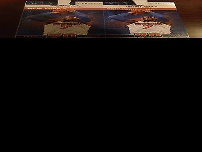 2 Club Seat tix Knicks Bulls 4/4 MSG section 115