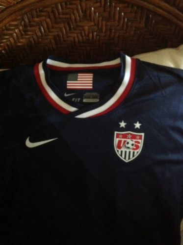 USA Nike World Cup Soccer  Jersey blue size Large women