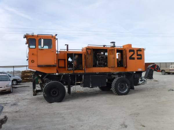 Snow Thrower Truck : Truck snow blower for sale classifieds