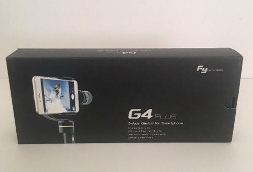 Feiyu Tech G4 Plus 3-Axis Gimbal for Smartphone - Apple Products FREE SHIPPING