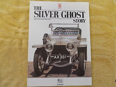 Rolls Royce The Silver Ghost Story