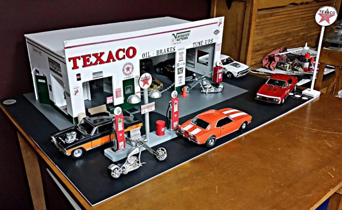 1 24 1 25 Barn Garage Diorama For Sale On Ebay: For Sale Classifieds