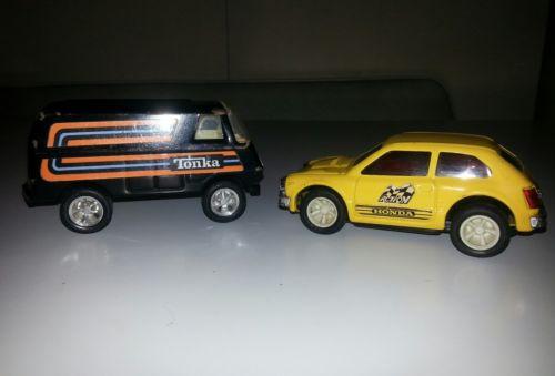 Vintage Tonka Honda & Van