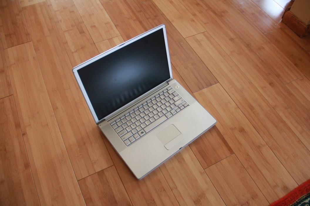 Apple PowerBook G4 15.2