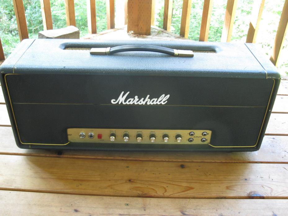 1973 Marshall Super Lead JMP 100 watt Tube Amplifier