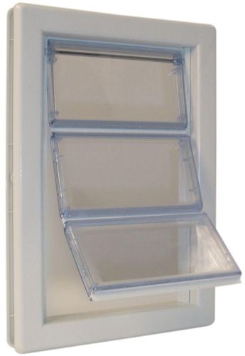 Ideal Pet Extra Large AirSeal Pet Door Dog Frame 10-1/4 in x 15-3/4 in