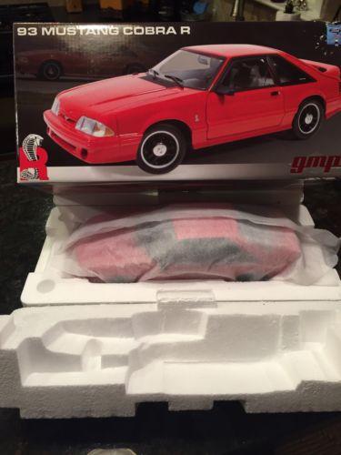 GMP 1993 Mustang Cobra R 1:18 Diecast