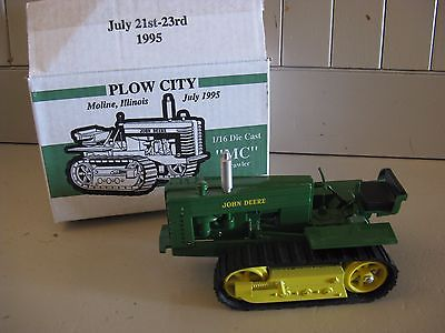 John Deere 15TH ANNUAL PLOW CITY TOY SHOW