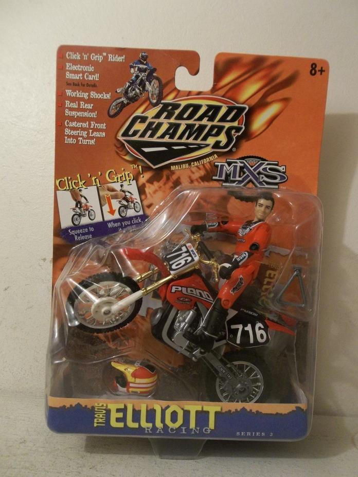2000 ROAD CHAMPS MXS #716 TRAVIS ELLIOTT PLANO HONDA CR125 MOTOCROSSER