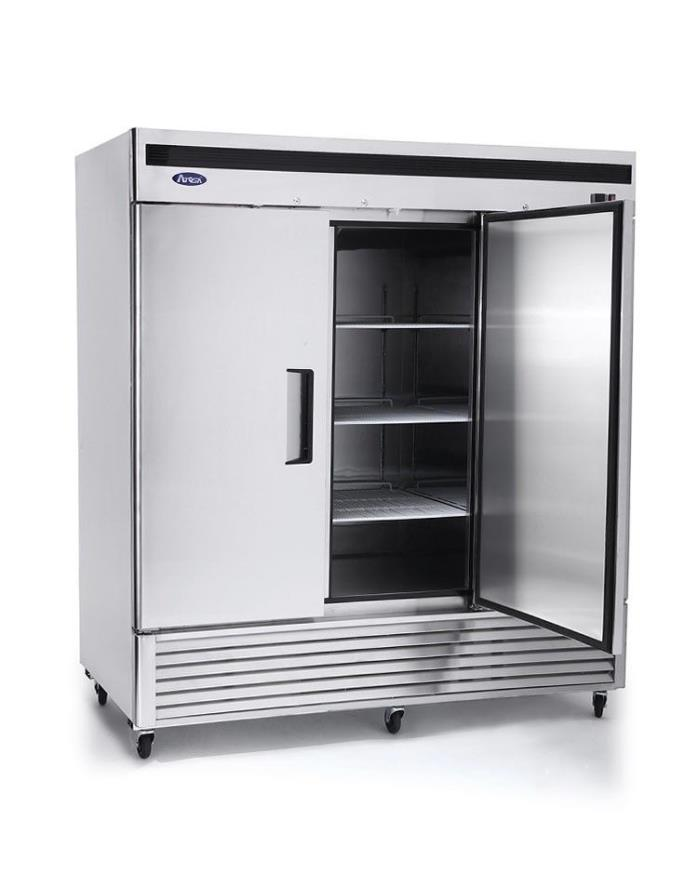 NEW Atosa Bottom Mount 3 Three Door Freezer Commercial Restaurant Stainless