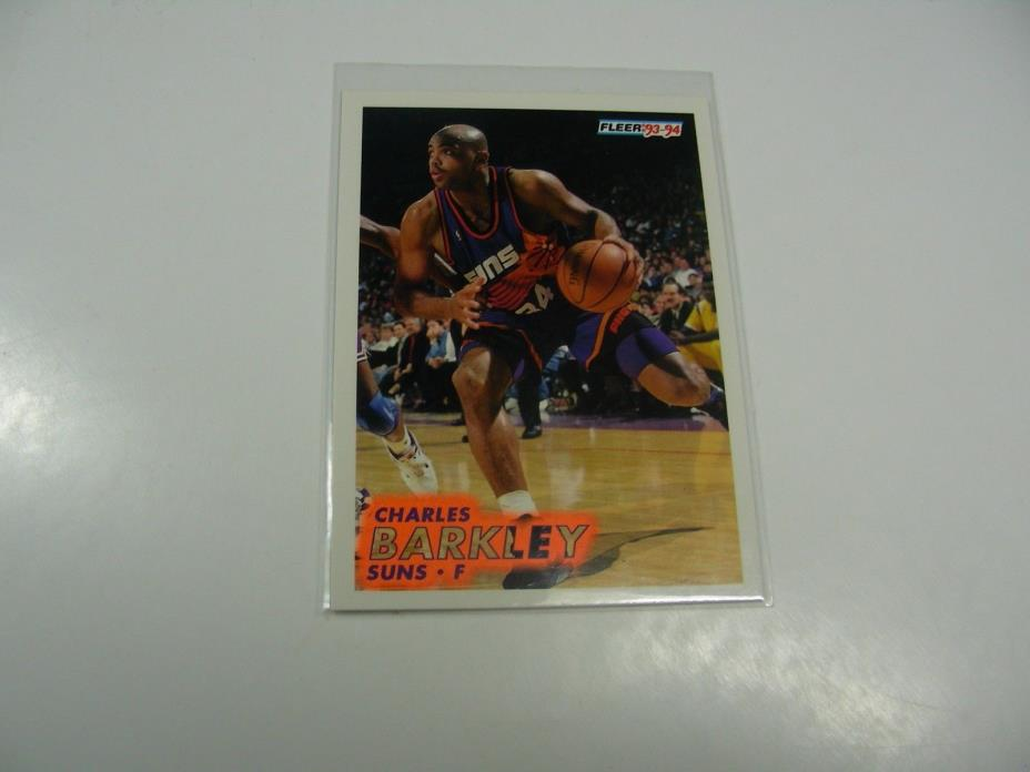 Charles Barkley 1993 Fleer card #163