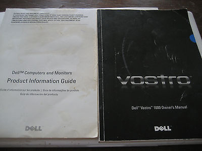 Dell Vostro 1000 Owners Manual and Dell  Computers and Monitors product guide