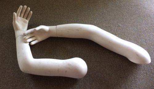 Mannequin Child vintage set pair hands Arms Antique Steampunk Goth Movie Prop