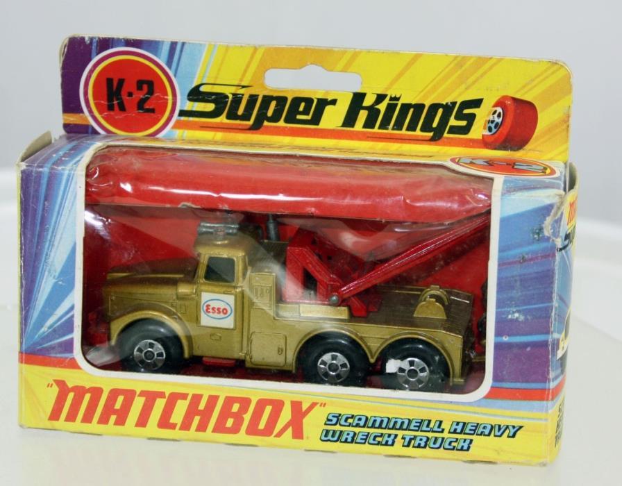 Matchbox SuperKings Scammell Heavy Wreck Truck