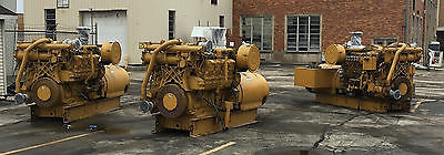 CAT 2250KW continuous power plant 3500 Series Consisting of three 3508 gensets