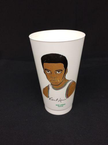 Vintage 7-11 Slurpee Cup Bob Lanier Detroit NBA