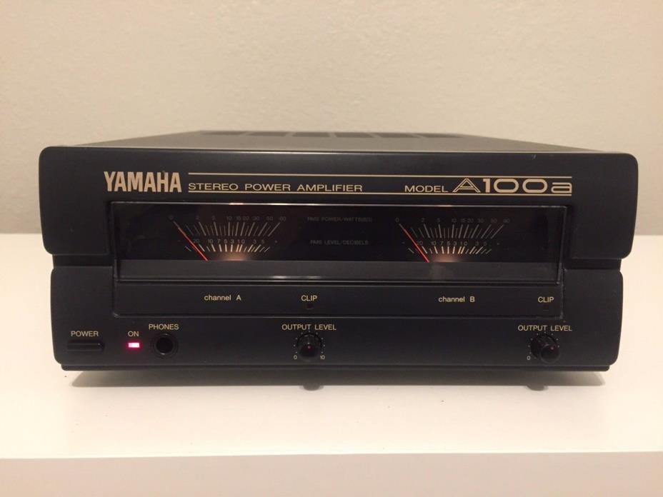 Yamaha A100a Stereo Amplifier - for NS-10m Monitors - RARE!!