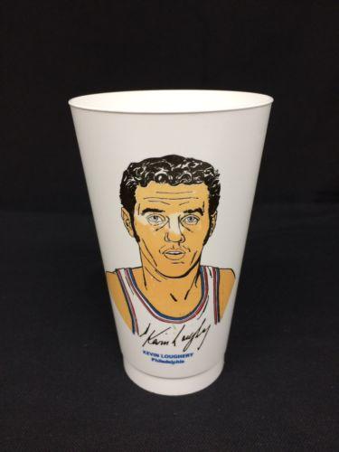 Vintage 7-11 Slurpee Cup Kevin Loughery Philadelphia NBA