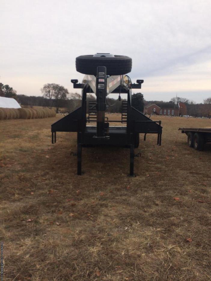 Gooseneck Dual Tandem Axles 25' 10 Tons