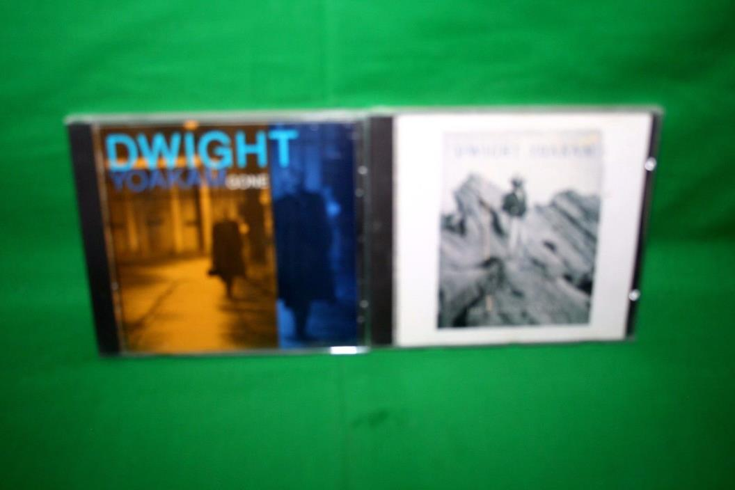 Lot Of 2 Dwight Yoakam Gone/Just Lookin' For A Hit CD's