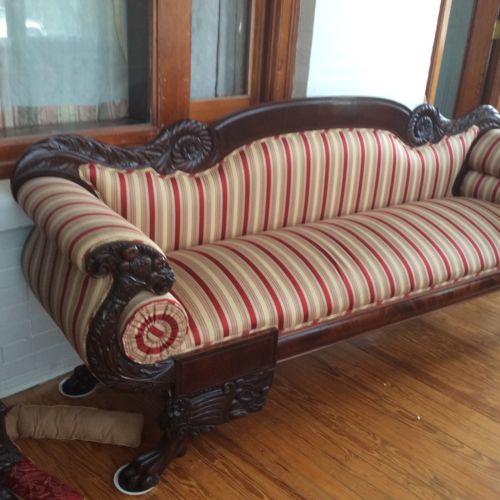 Antique Empire Sofa For Sale Pioneerdenver Co
