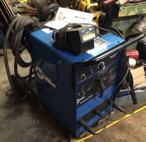 Miller TIG Syncrowave 180SD Squarewave AC / DC Tig Stick Welder 1Ph Torch Leads