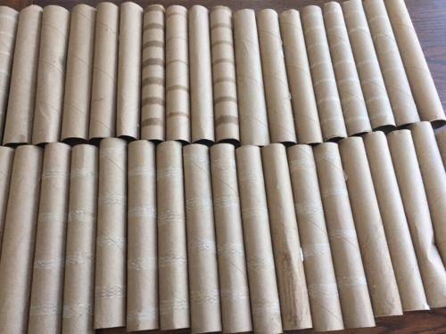 38 Paper Towel Roll Tube Cardboard Empty